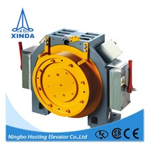 for cargo lift gearless elevator traction motor