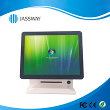 15 inch Fanless Dual Screen Capacitive Touch POS System