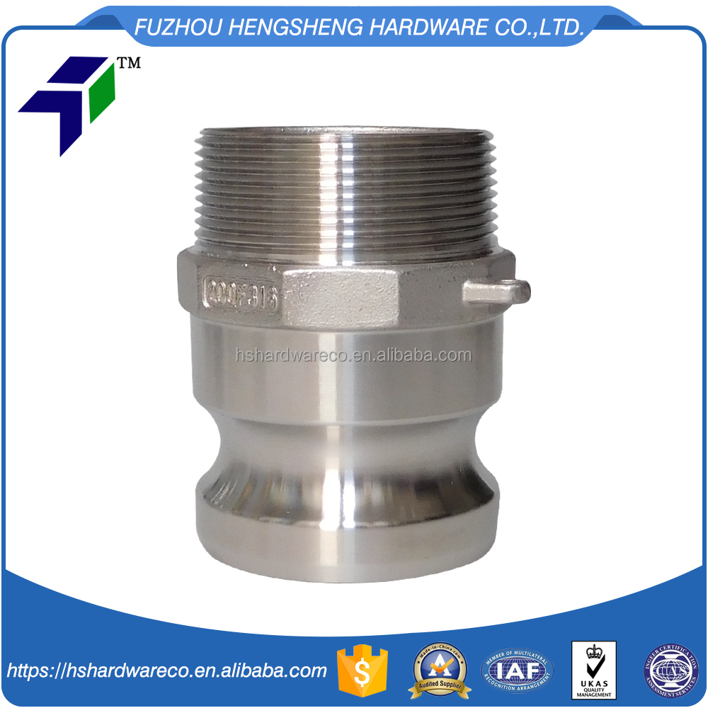 Camlock coupling joint annular braided corrugated hose