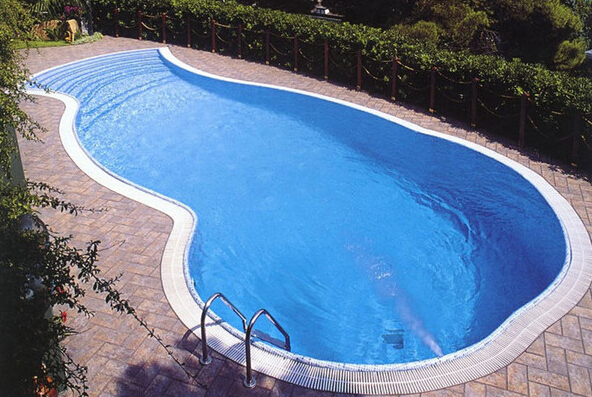 liner dealer piscinas pvc pools outdoor with fiberglass reinforced