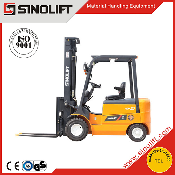 Hot - CPD-J series Four Wheels 1-3T Electric Forklift