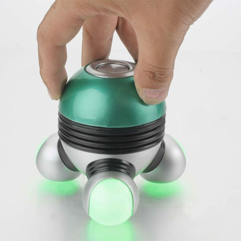 Colorful Cute Tripod Design Electric Vibraiting Mini Massager