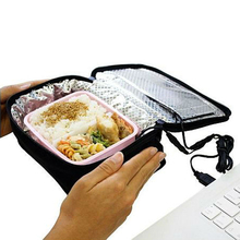 Outdoor Washable 5V 2A Battery Heated Lunch Box In Car