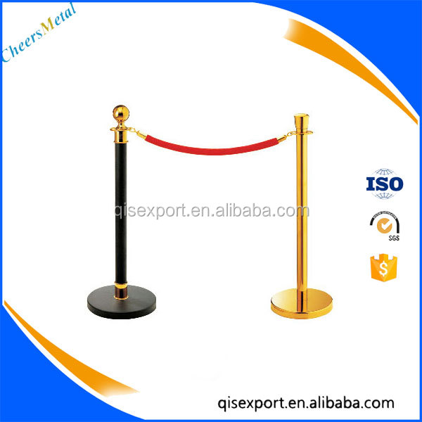 retractable belt barrier tape post, line control stanchions