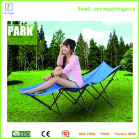 Durable simple installation steel bed,folding bed,single camping bed designs