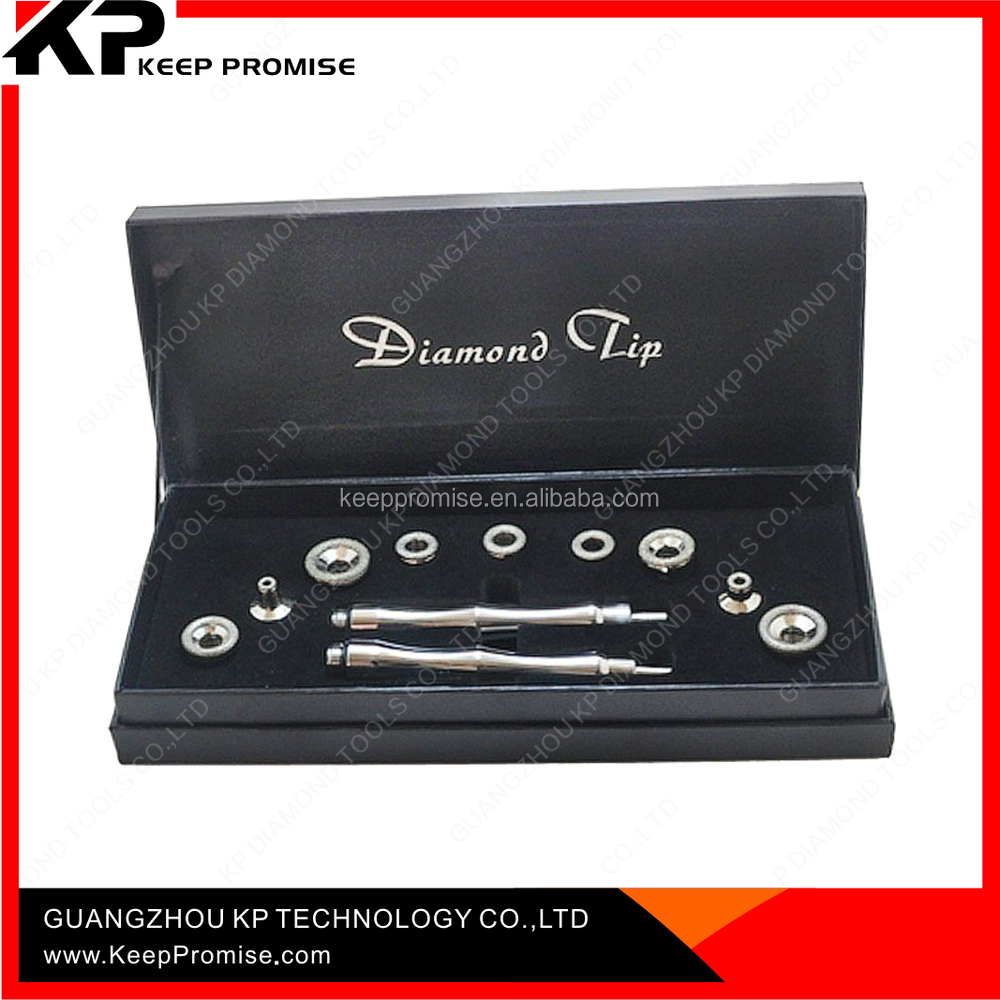 China manufacturer 5 functional diamond dermabrasion heads and wands