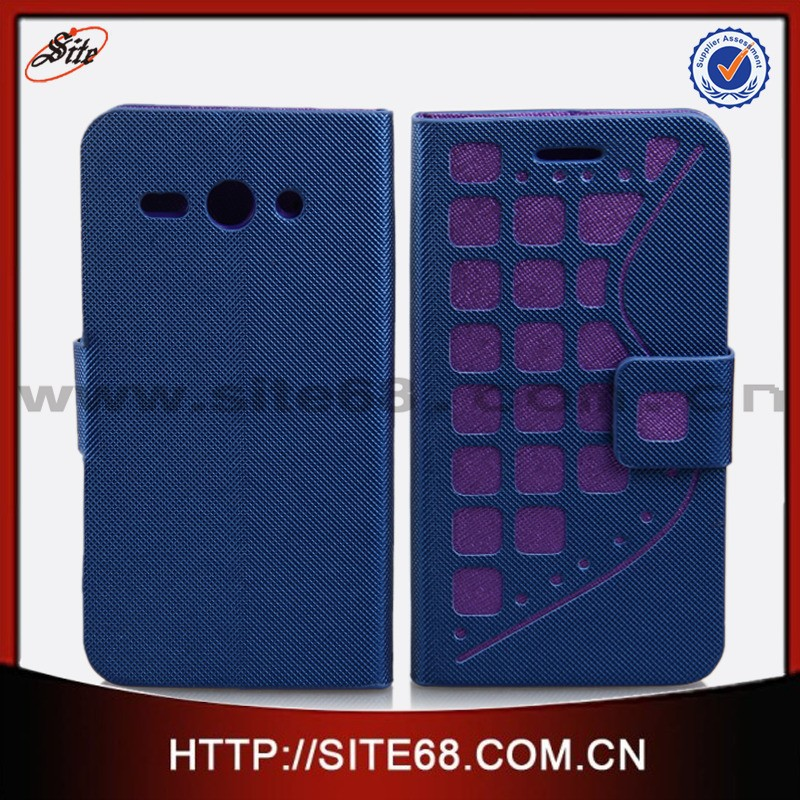 High quality factory price leather cellular phone bags&covers for huawei cm990