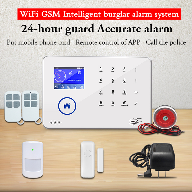 2019 NEW Hot sale IP Camera Integrated Wifi GSM Smart Security alarm system BL-6600 from Bailingjia company