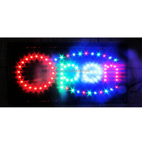 Super light led open sign in hot selling