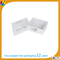 window gift box baby shoes packaging