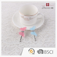 lovely butterfly fashion kids hair accessory set oem service hair grip hair pin bobby pin