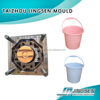 OEM Custom Plastic injection Bucket Mould/Custom design plastic paint bucket mould/household products plastic barrel Mold