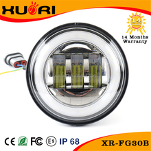 Factory Price 4.5'' LED head lamp 40w for led harley parts motorcycle led kits 10-30V DC LED Motorcycle 6500K Head bulb