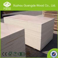 1220*2440mm plywood unfinished wood furniture wholesale