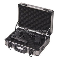 EVA foam carrying aluminum hard gun case