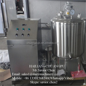 Milk Pasteurizer And Homogenizer Dairy Equipment