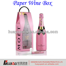 Popular Paper Wine Box for wine