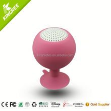 wholesale cow horn buyers silicone portable speaker from China factory