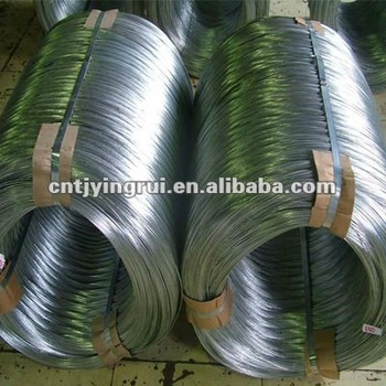 big coil of galvanized wire manufacture