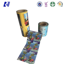 Latest design soft injection molding plastics film packing with low price