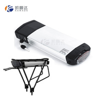 36v 11.6ah electric bike lithium battery pack / 36v electric bike battery in removeable rear rack