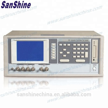 Automatic transformer tester SS3250