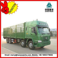 HOWO 8*4 cargo trucks with cheap price