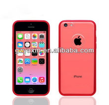 Mobile phone case for iphone 5c,For iphone5C TPU case cover