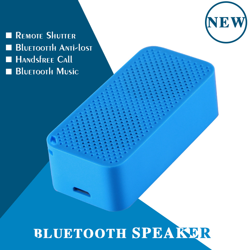 Lovely usb bluetooth speakers with rechargeable battery with shutter selfie and anti lost functions