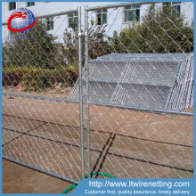 Factory price removable chain link fence panels lows / temporary chain link fence