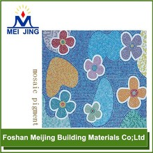 high quality pigment for floor tiles 15x15 mosaic factory