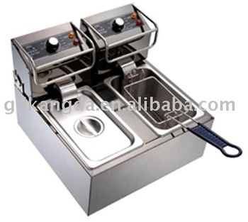 201/304 Double stainless steel Deep fryer EZ-B1