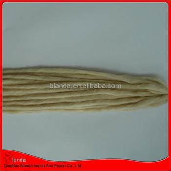 new style light color dread lock synthetic hair extension