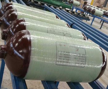 composite cng cylinder type 2 with 200 bar OD 406 mm 120 L capacity