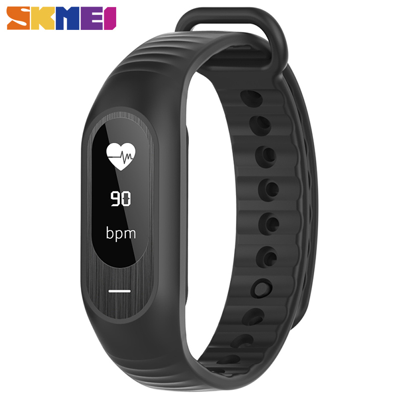 SKMEI B15P Women Men Digital Wristwatches Blood Pressure Wristband Heart Rate Monitor Fitness Clock Alarm Fashion Sports Watches