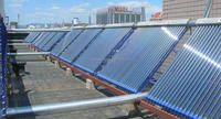 Heat pipe collector solar project for hot water /floor /swimming pool