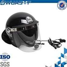 special anti riot police helmet with communications