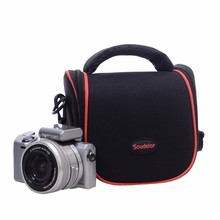 promotional Microfiber drawstring camera bag pouch