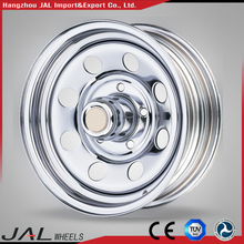Chrome Tractor Trailer Wheel Rims Steel 4x4 Wheels For Cars