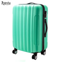Hot sale high quality lightweight hard shell suitcase
