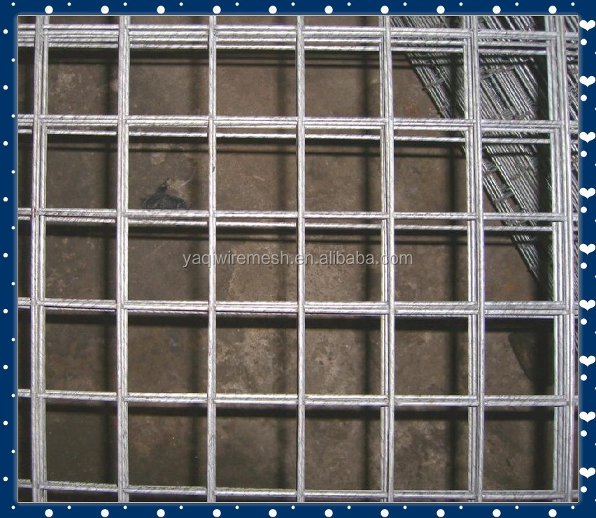 galvanized welded wire mesh in roll/in pannel /in sheet/15 years factory direct supply