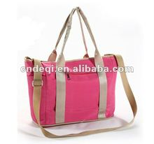 trendy stylish multi-functional microfiber portable mother bag