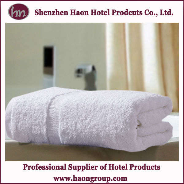 Top quality 100%cotton plus size bath towel for luxury 5star hotels