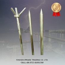 Lightning Protection Zones of Copper Ground Rod for Grounding System