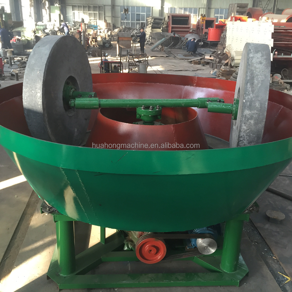 Wet Pan Gold Grinding Machine/Wet Gold Grinding Mill