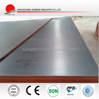 cheap price of laminated film faced plywood / marine plywood