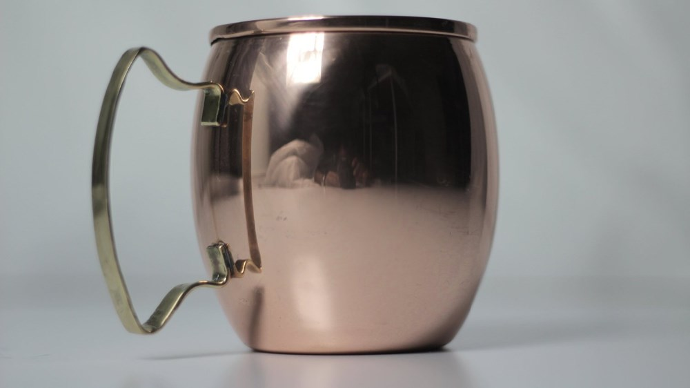 International original moscow mule mugs 100% pure copper unlined moscow copper mule mugs