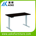 dual motor height adjustable office table