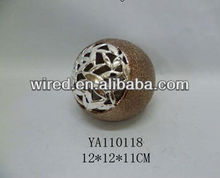 Hot selling decorative ceramics ball crafts
