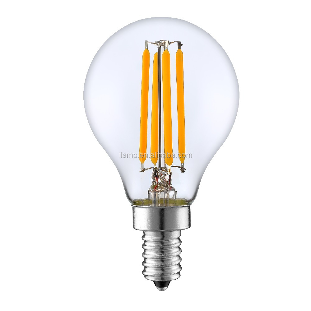 Best seller alibaba led filament lamp 27 8W 1000lm energy saving clear glass led bulb light
